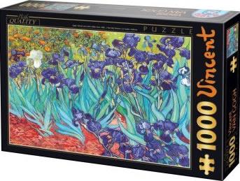 Puzzle D-Toys Lirios de 1000 Piezas