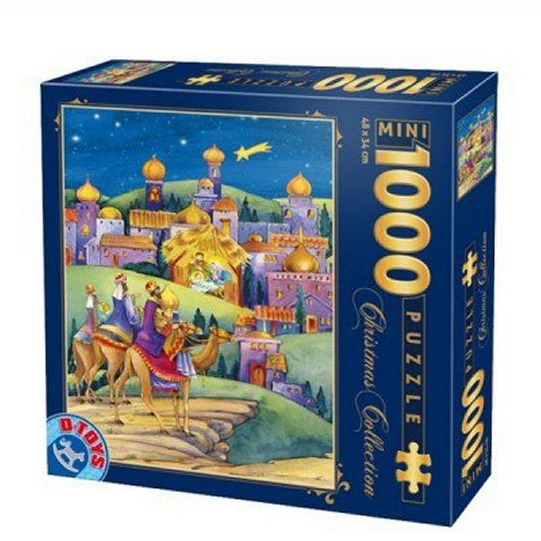 Puzzle D-Toys Llegada a la Ciudad (Piezas Miniatura) de 1000 Pie