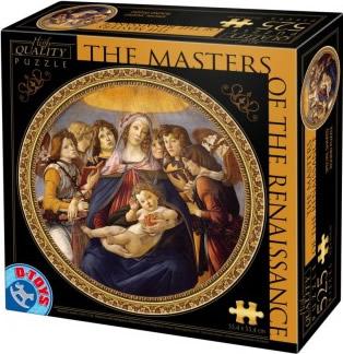 Puzzle D-Toys Maestros del Renacimiento de 525 Piezas