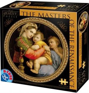 Puzzle D-Toys Maestros del Renacimiento I de 525 Piezas