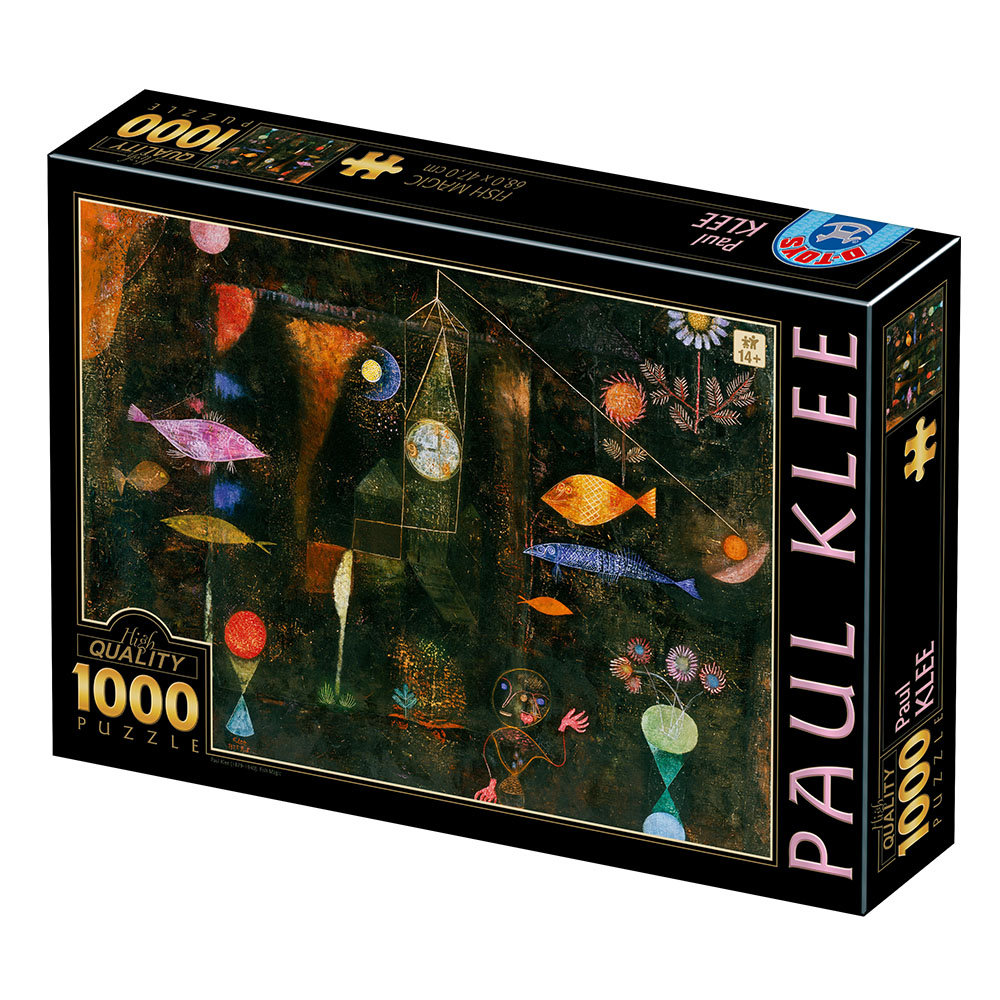Puzzle D-Toys Magia de los Peces de 1000 Piezas