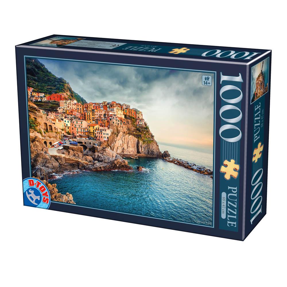 Puzzle D-Toys Manarola, Italia de 1000 Piezas