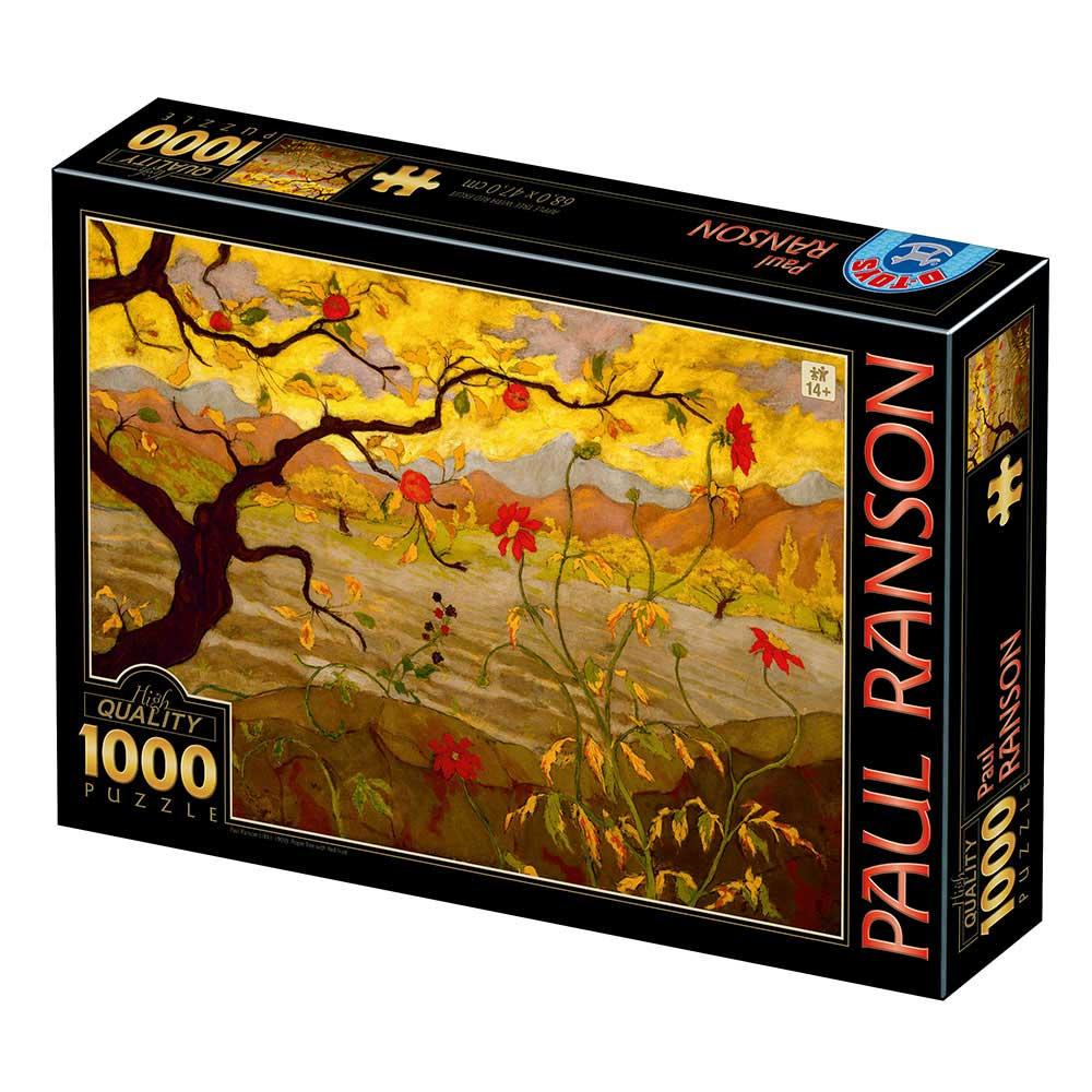 Puzzle D-Toys Manzano Con Frutas Rojas de 1000 Piezas