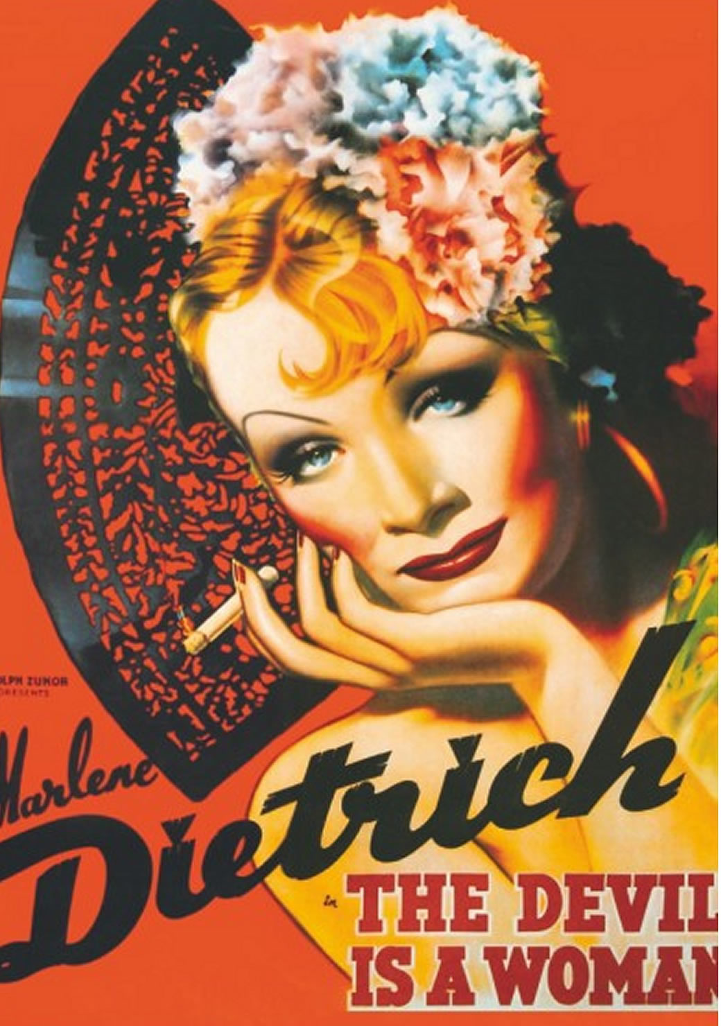 Puzzle D-Toys Marlene Dietrich, The Devil is a Woman de 1000 Pie