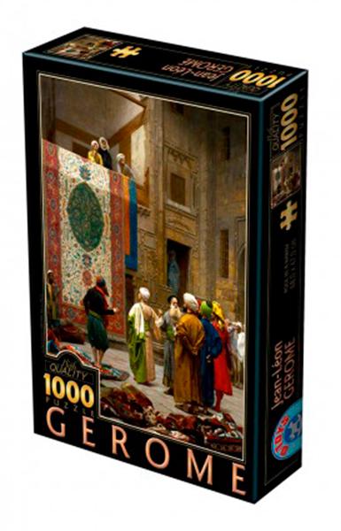 Puzzle D-Toys Mercado de Alfombras en El Cairo de 1000 Pzs
