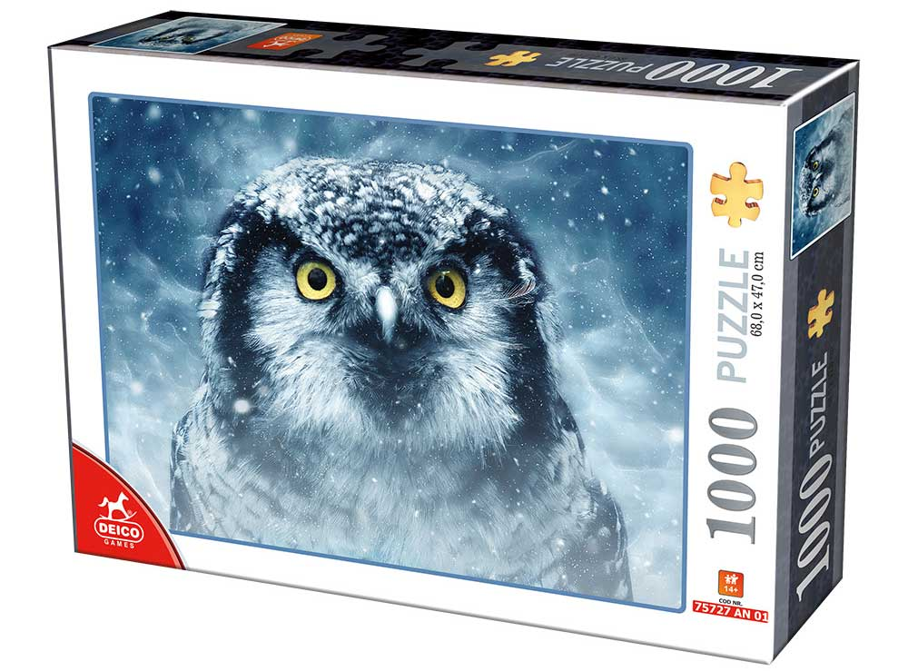 Puzzle D-Toys Mirada Fija de 1000 Piezas