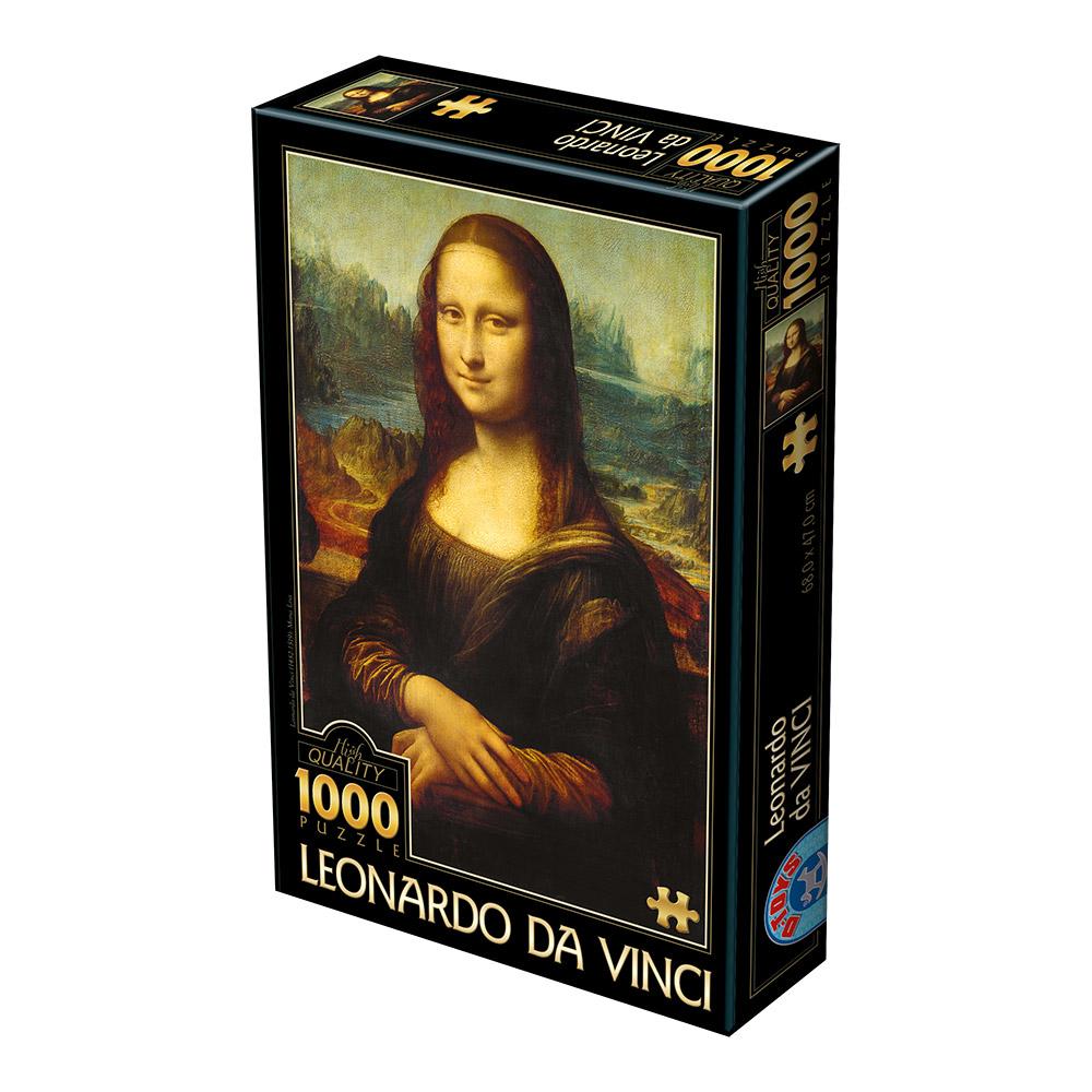 Puzzle D-Toys Mona Lisa de 1000 Piezas