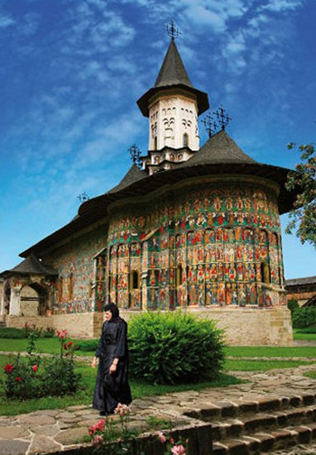 Puzzle D-Toys Monasterio de Sucevita, Rumania de 1000 Piezas