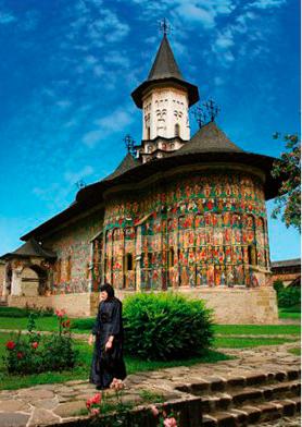Puzzle D-Toys Monaterio Sucevita, Rumanía de 1000 Pzs
