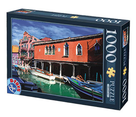 Puzzle D-Toys Murano, Italia de 1000 Piezas
