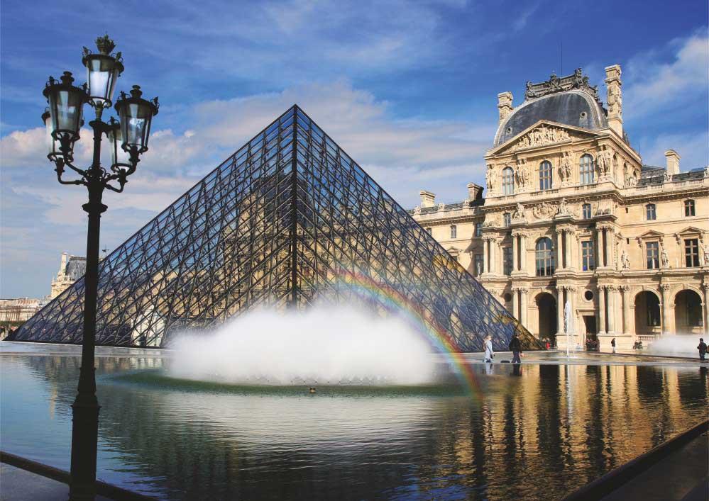 Puzzle D-Toys Museo del Louvre, París de 1000 Piezas