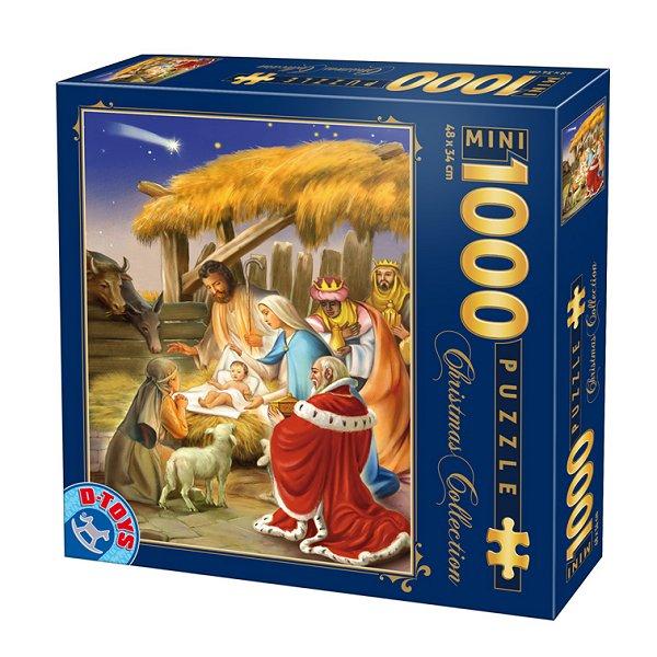 Puzzle D-Toys Nacimiento (Piezas Miniatura) de 1000 Piezas