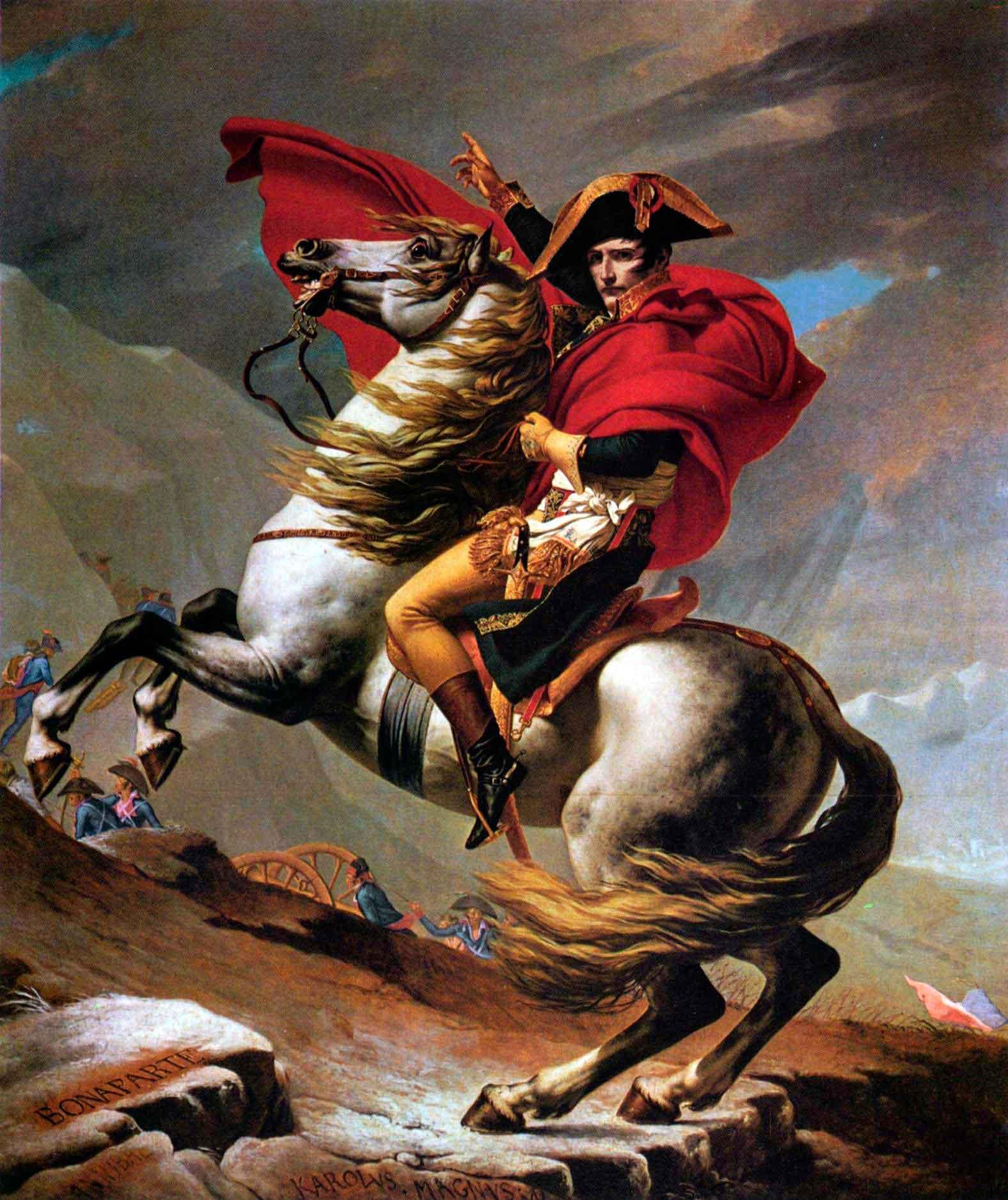 Puzzle D-Toys Napoleón Cruzando Los Alpes 1000 Piezas