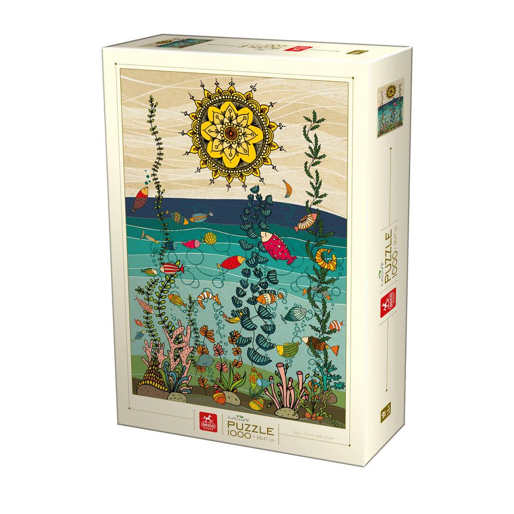 Puzzle D-Toys Naturaleza en el Mar de 1000 Piezas