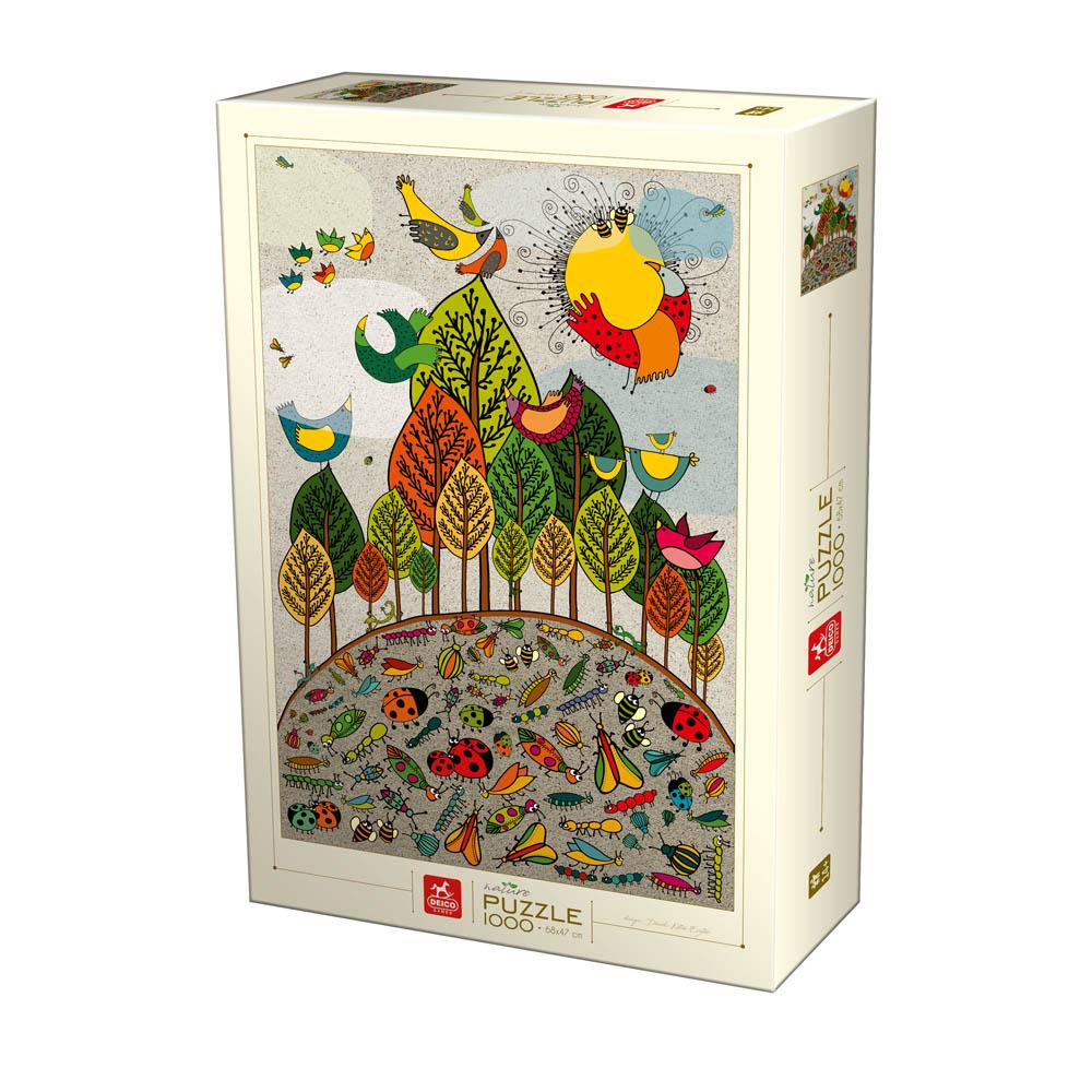 Puzzle D-Toys Naturaleza en la Tierra de 1000 Piezas