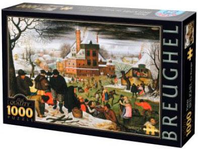 Puzzle D-Toys Invierno de 1000 Piezas