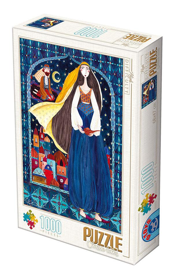 Puzzle D-Toys Las Mil y Una Noches de 1000 Piezas