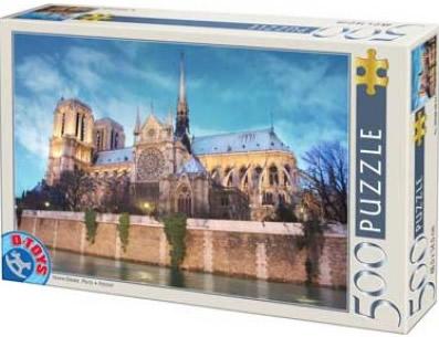 Puzzle D-Toys Notre Dame, París de 500 Piezas