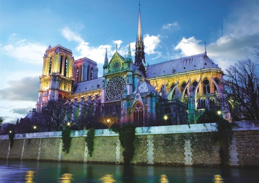 Puzzle D-Toys Notre Dame, París, Francia de 1000 Piezas