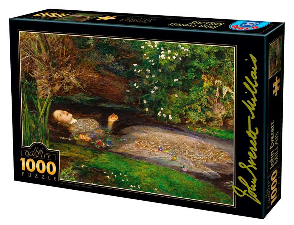 Puzzle D-Toys Ofelia de 1000 Piezas