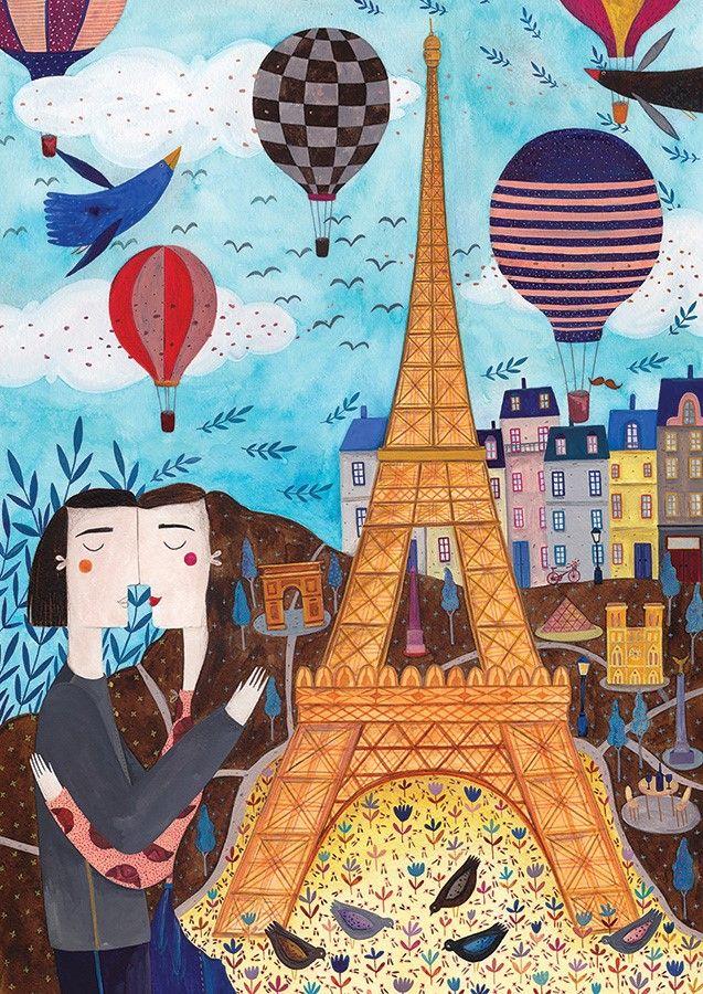 Puzzle D-Toys París de 1000 Piezas