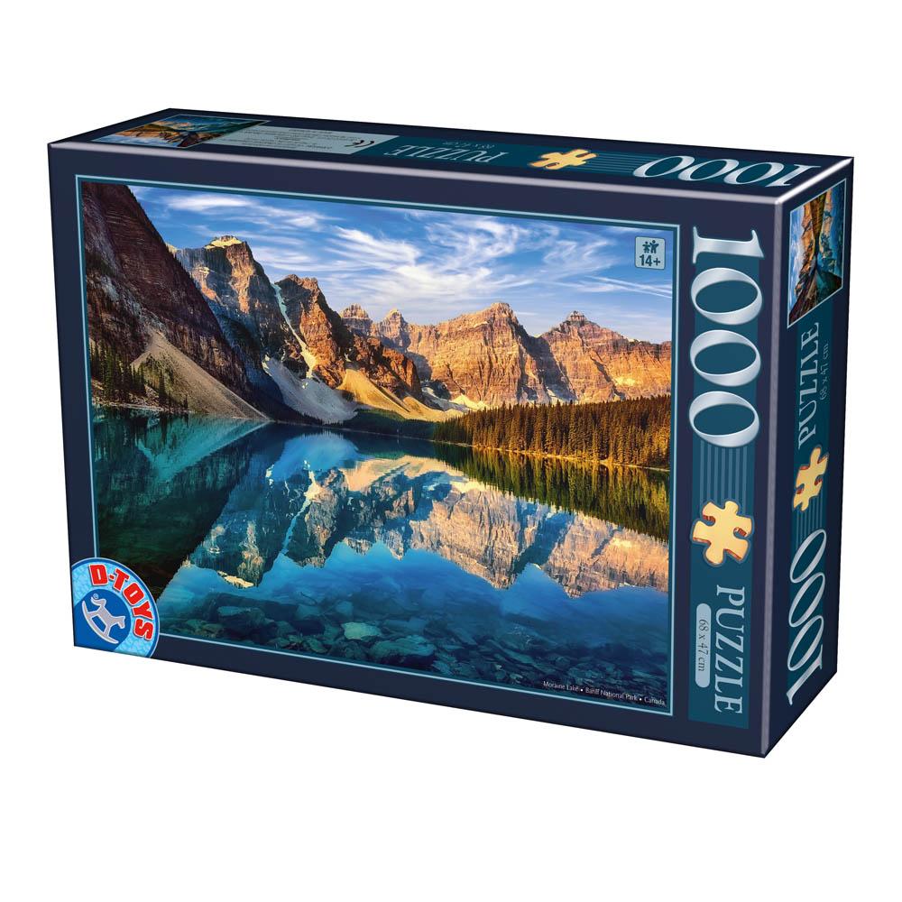 Puzzle D-Toys Parque Nacional Banff, Canadá de 1000 Piezas