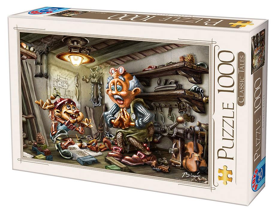 Puzzle D-Toys Pinocho de 1000 Piezas