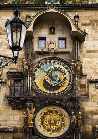 Puzzle D-Toys Reloj Astronómico de Praga, Rep. Checa de 1000 Pzs