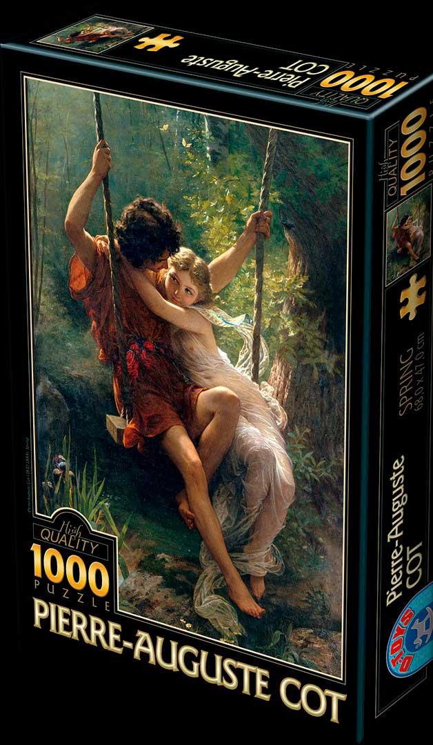 Puzzle D-Toys Primavera de 1000 Piezas