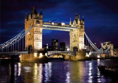 Puzzle D-Toys Puente de la Torre, Londres de 1000 Piezas