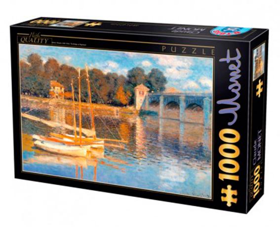 Puzzle D-Toys Puente en Argenteuil de 1000 Piezas