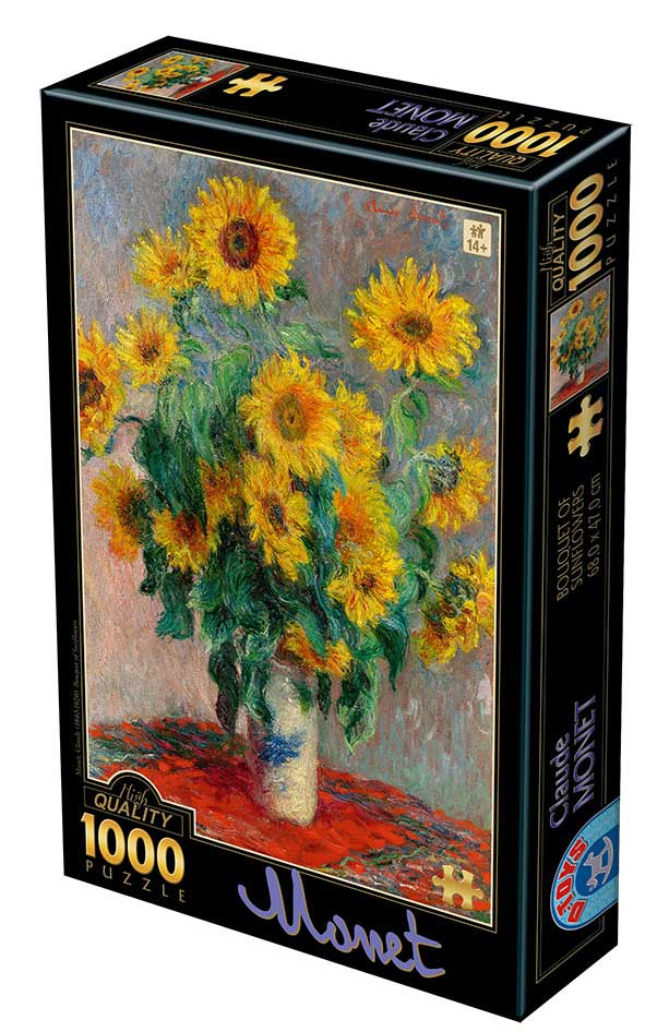 Puzzle D-Toys Ramo de Girasoles de 1000 Piezas