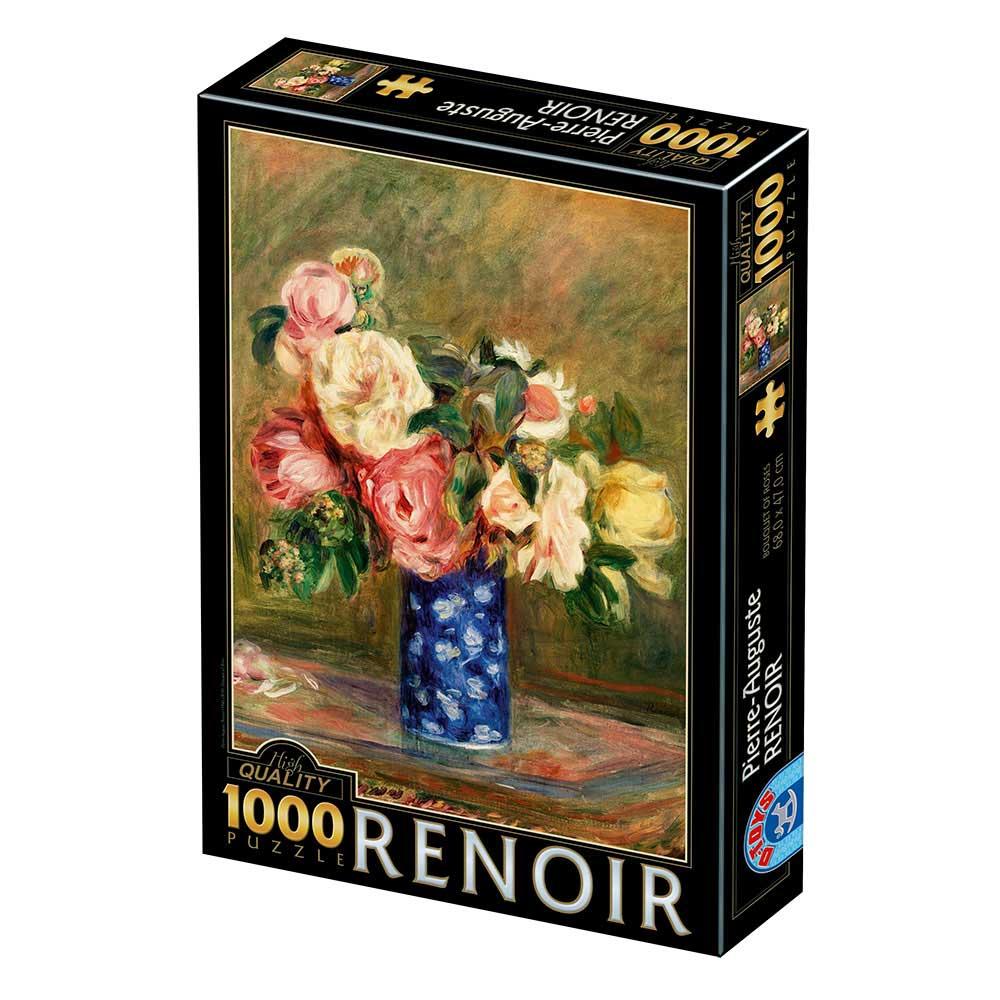 Puzzle D-Toys Ramo de Rosas de 1000 Piezas