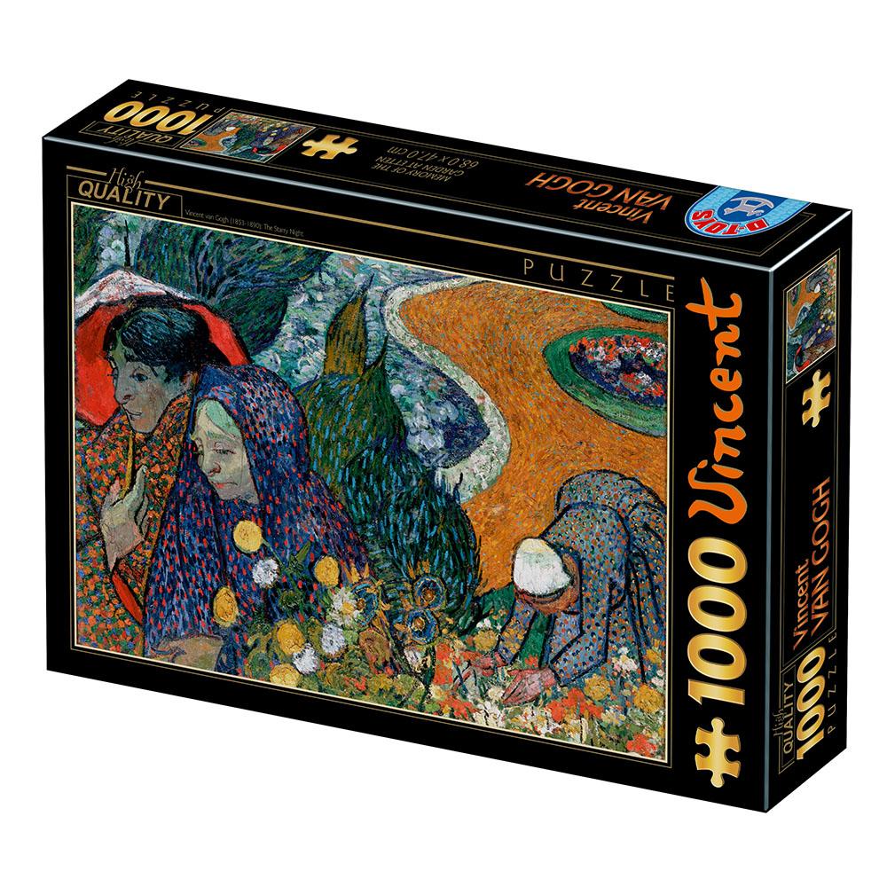 Puzzle D-Toys Recuerdo del Jardín de Etten de 1000 Piezas