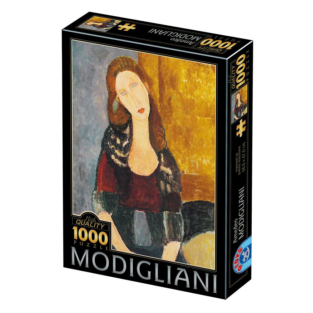 Puzzle D-Toys Retrato de Mujer de 1000 Piezas