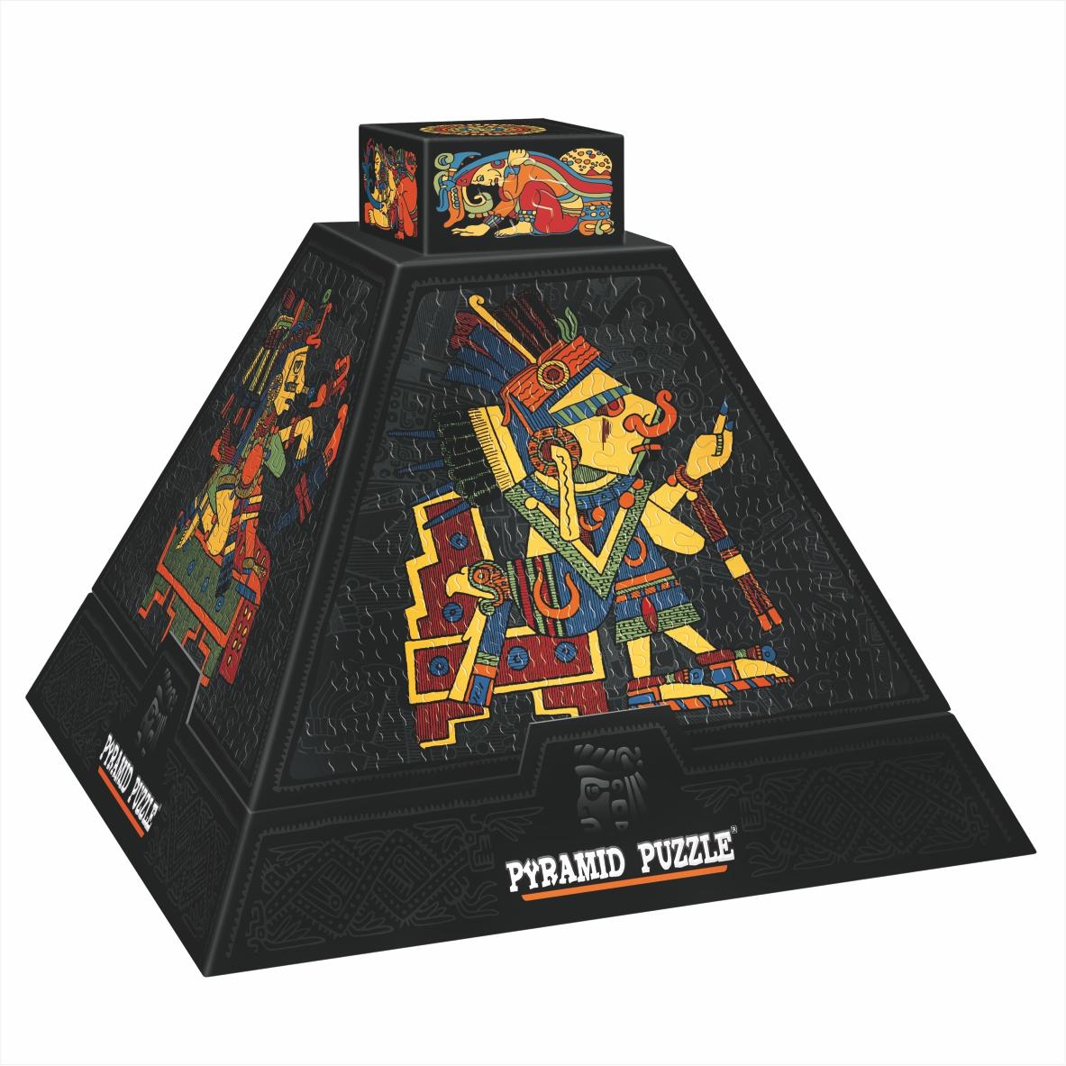 Puzzle D-Toys Rosetas Azteca I 3D 504 Piezas