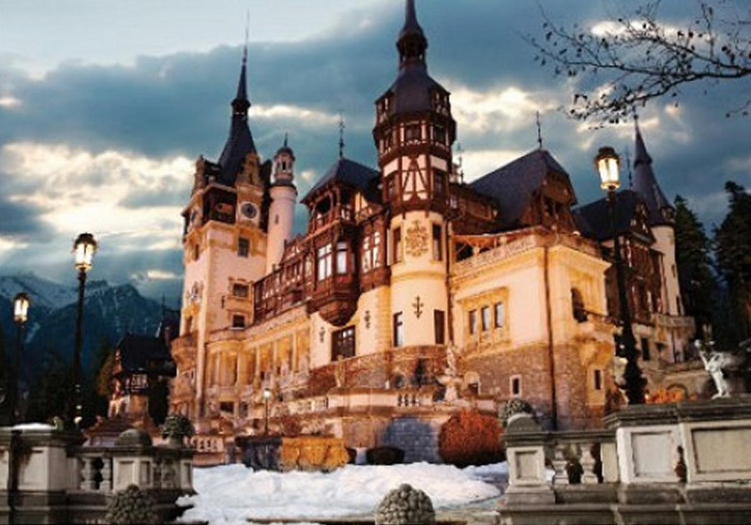 Puzzle D-Toys Rumania, Castillo de Peles de 1000 Piezas