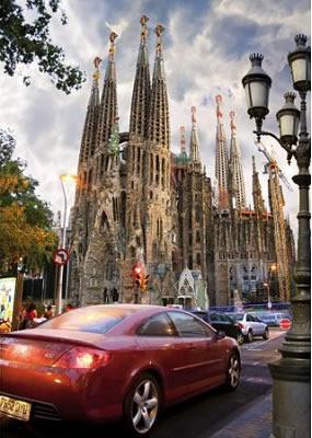 Puzzle D-Toys Sagrada Familia, España de 1000 Piezas