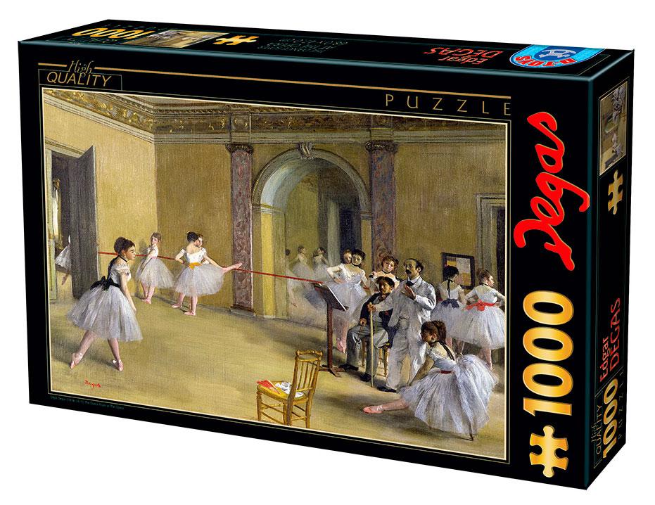 Puzzle D-Toys Salón de Baile en la Ópera de 1000 Piezas