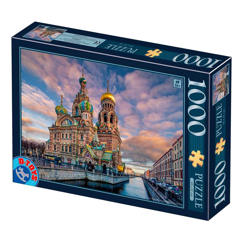 Puzzle D-Toys San Petersburgo de 1000 Piezas