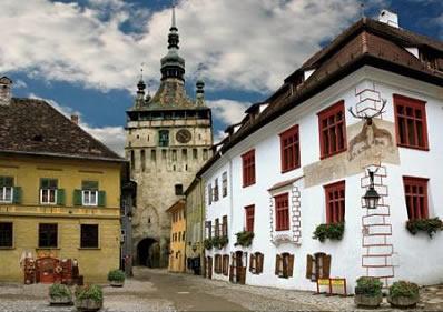 Puzzle D-Toys Schasburg , Sighisoara. Rumania de 1000 Piezas