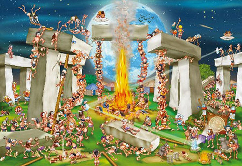Puzzle D-Toys Stonehenge de 1000 Piezas