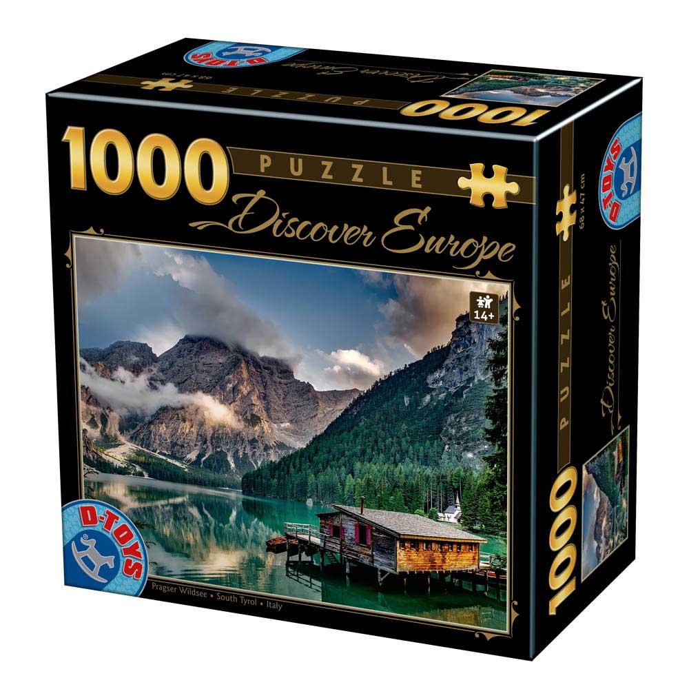 Puzzle D-Toys Sur del Tirol, Italia de 1000 Piezas