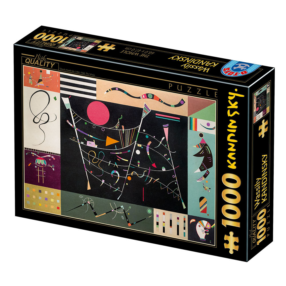 Puzzle D-Toys The Whole de 1000 Piezas