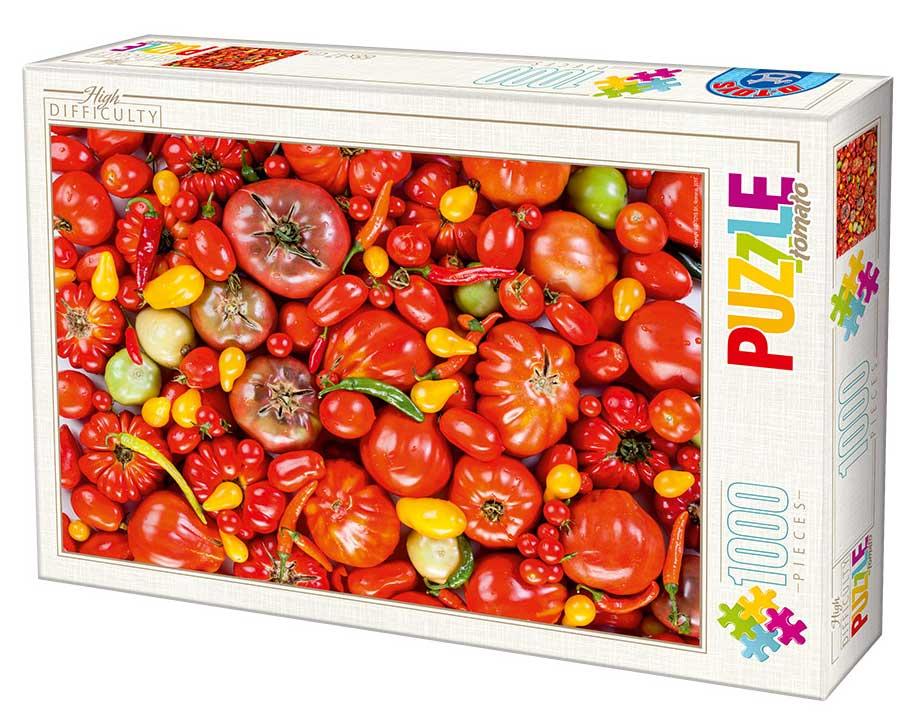 Puzzle D-Toys Tomates y Guindillas de 1000 Piezas