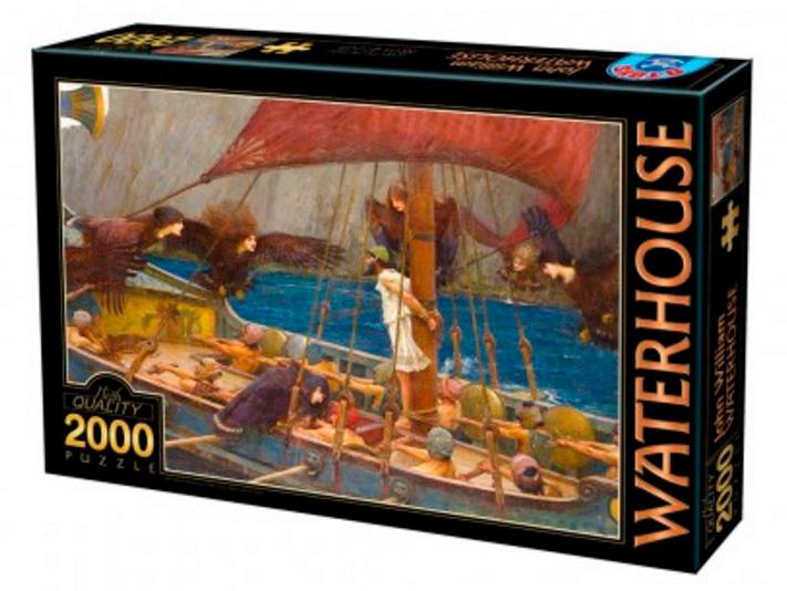 Puzzle D-Toys Ulises y las Sirenas de 2000 Piezas