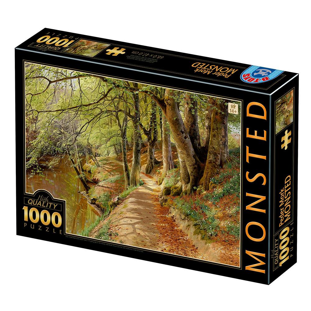 Puzzle D-Toys Un Día de Primavera en el Bosque de 1000 Piezas