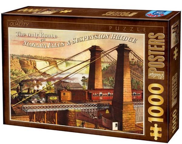 Puzzle D-Toys Único Camino a las Cataratas del Niágara de 1000 P