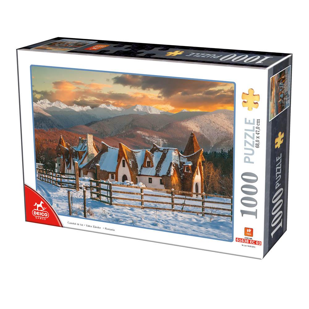 Puzzle D-Toys Valle de las Hadas, Rumania de 1000 Pieza