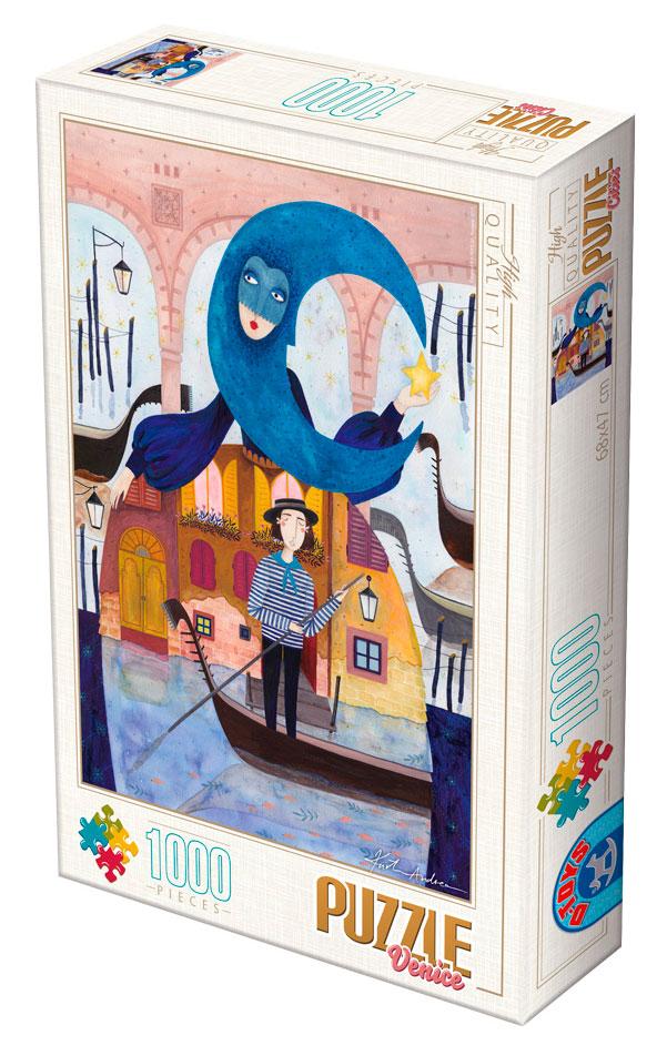 Puzzle D-Toys Venecia de 1000 Piezas